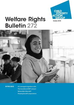 Description: Welfare Rights Bulletin - Issue 272