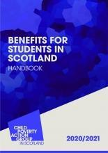 Description: Benefits for Students in Scotland Handbook | 2020/21 | 18th ed