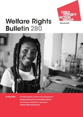 Description: Welfare Rights Bulletin - Issue 280