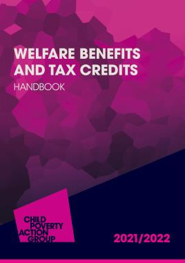 Description: Welfare Benefits and Tax Credits Handbook 2021/22
