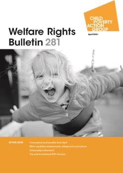 Description: Welfare Rights Bulletin - Issue 281